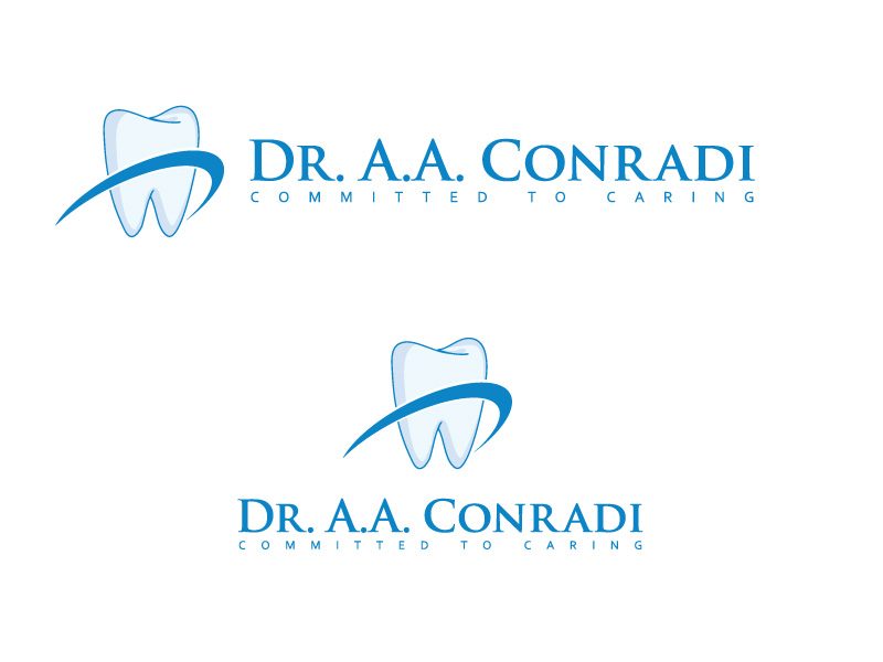 Logo Design by ddamian_dd - Entry No. 20 in the Logo Design Contest Unique Logo Design Wanted for Dr. A.A. Conradi.
