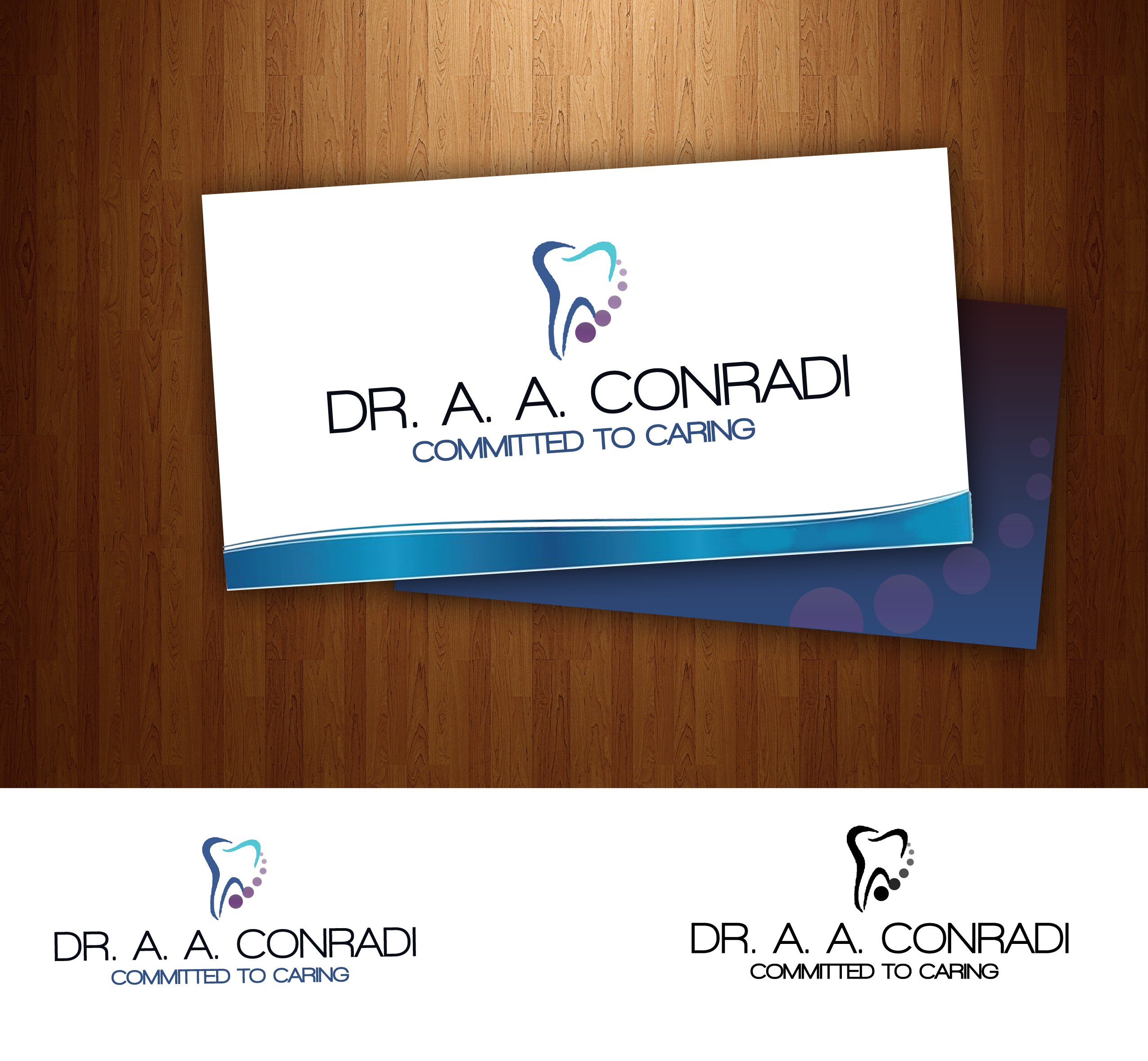 Logo Design by Lama Creative - Entry No. 25 in the Logo Design Contest Unique Logo Design Wanted for Dr. A.A. Conradi.