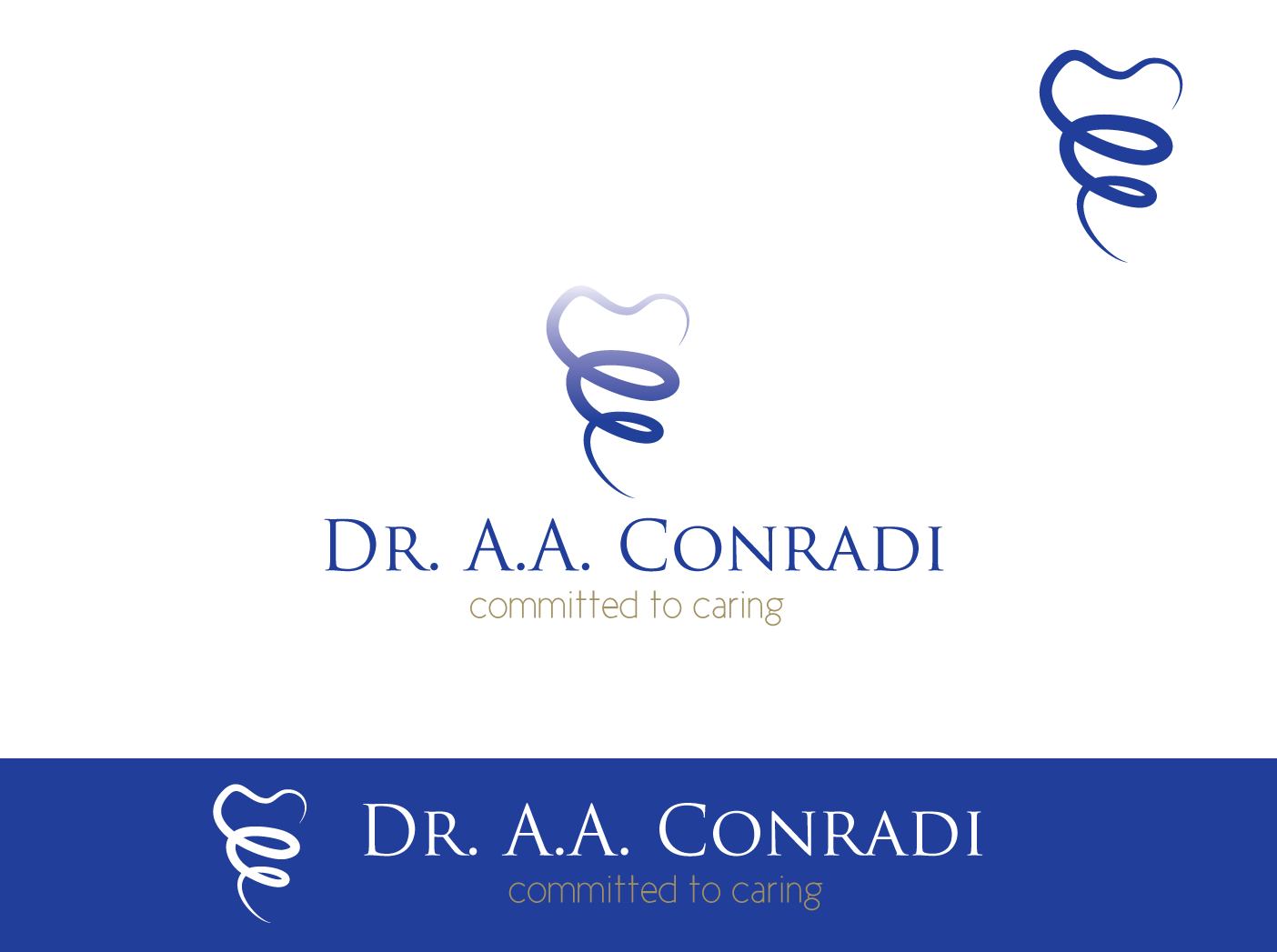 Logo Design by Severiano Fernandes - Entry No. 28 in the Logo Design Contest Unique Logo Design Wanted for Dr. A.A. Conradi.