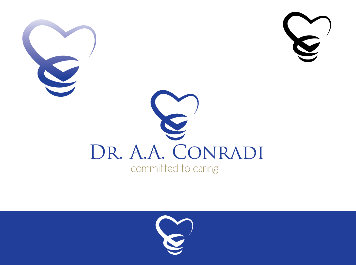 Logo Design by Severiano Fernandes - Entry No. 29 in the Logo Design Contest Unique Logo Design Wanted for Dr. A.A. Conradi.