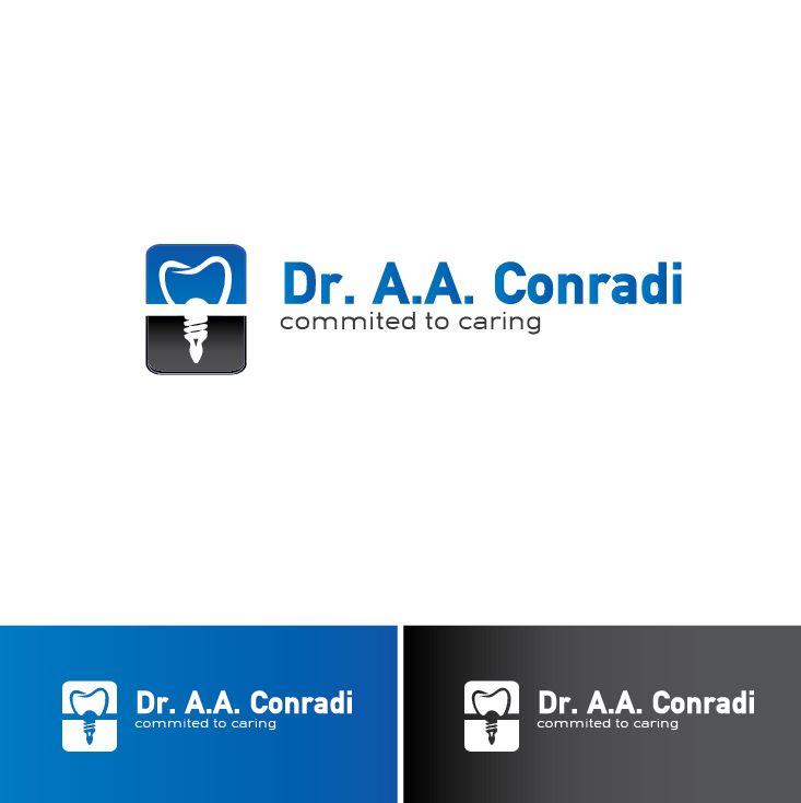 Logo Design by limix - Entry No. 36 in the Logo Design Contest Unique Logo Design Wanted for Dr. A.A. Conradi.