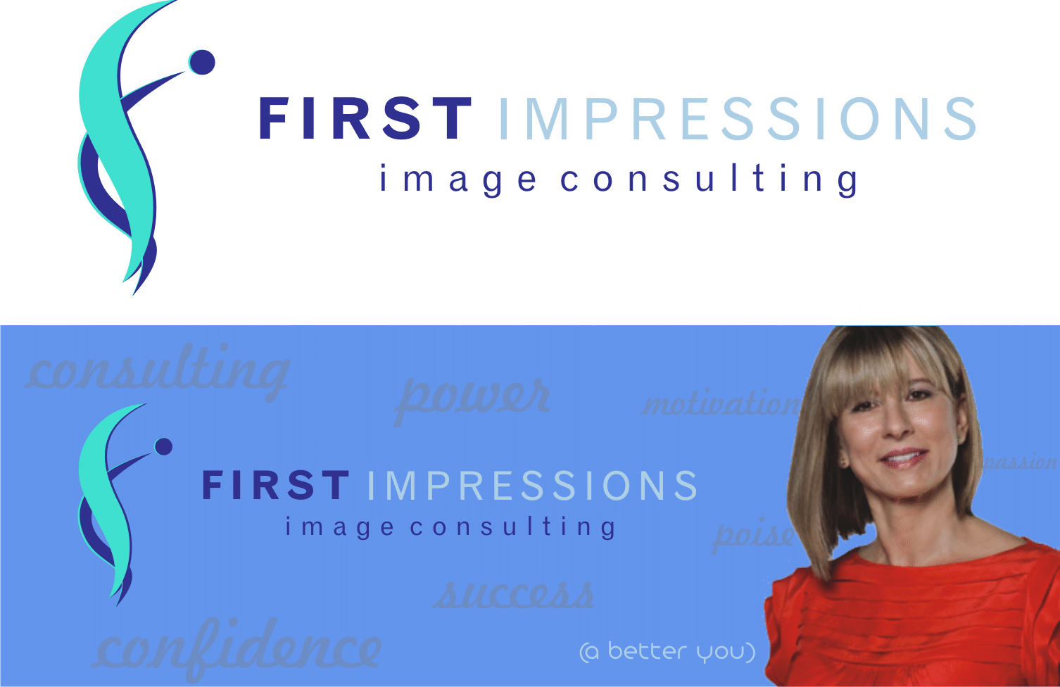 Logo Design by Artbeno Artbeno - Entry No. 139 in the Logo Design Contest First Impressions Image Consulting Logo Design.