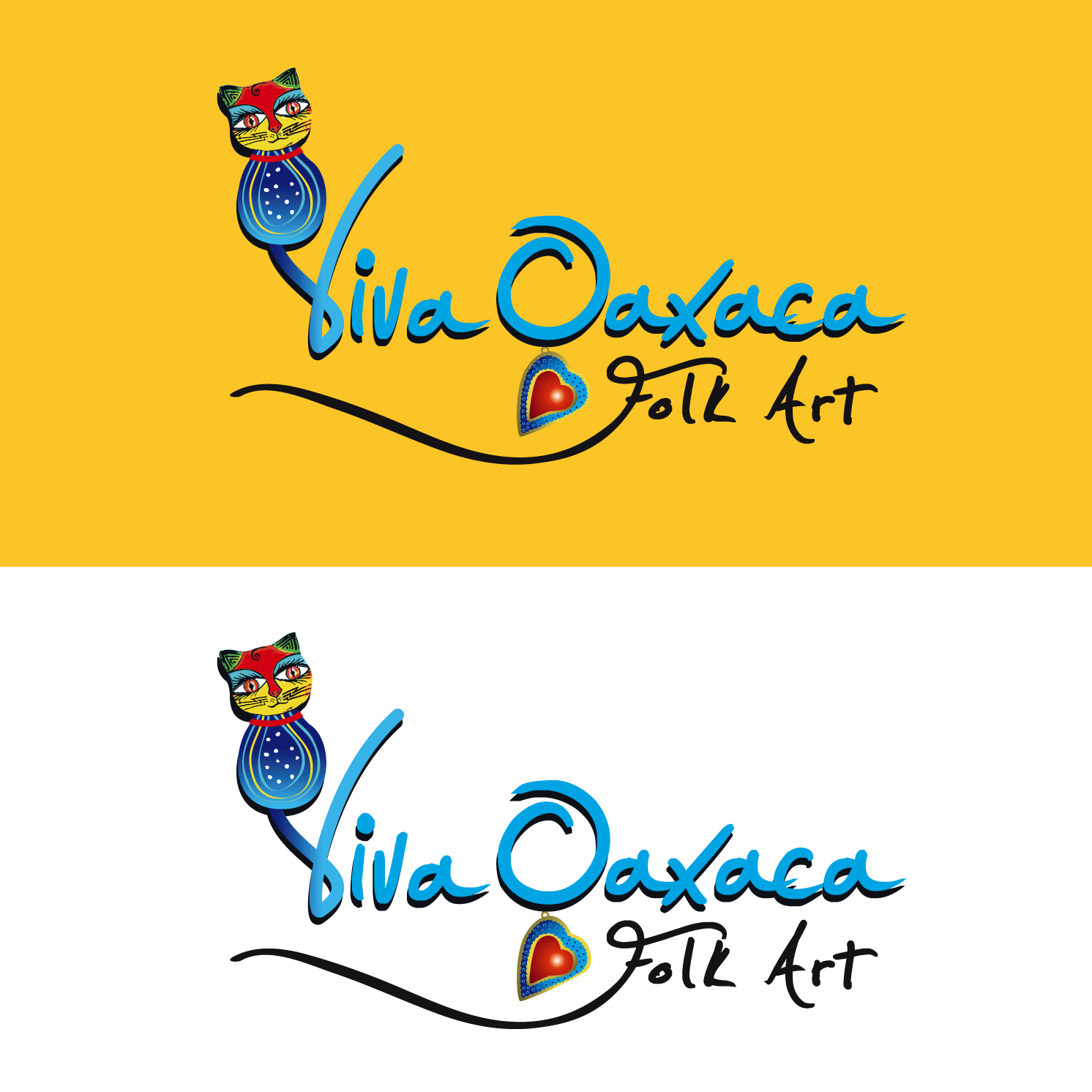 Logo Design by luna - Entry No. 20 in the Logo Design Contest Logo Design Needed for Mexican Handcrafts Website - Viva Oaxaca Folk Art.