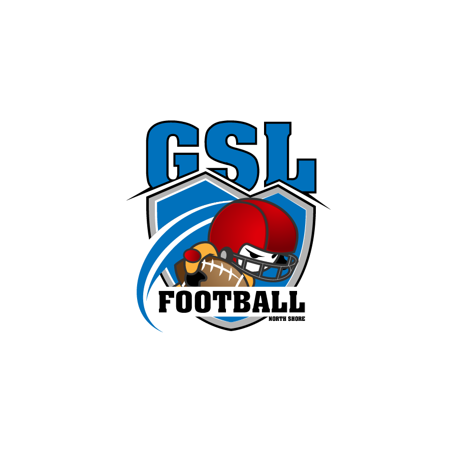 Logo Design by zesthar - Entry No. 46 in the Logo Design Contest Unique Logo Design Wanted for GSL Football, also known as North Shore Football.