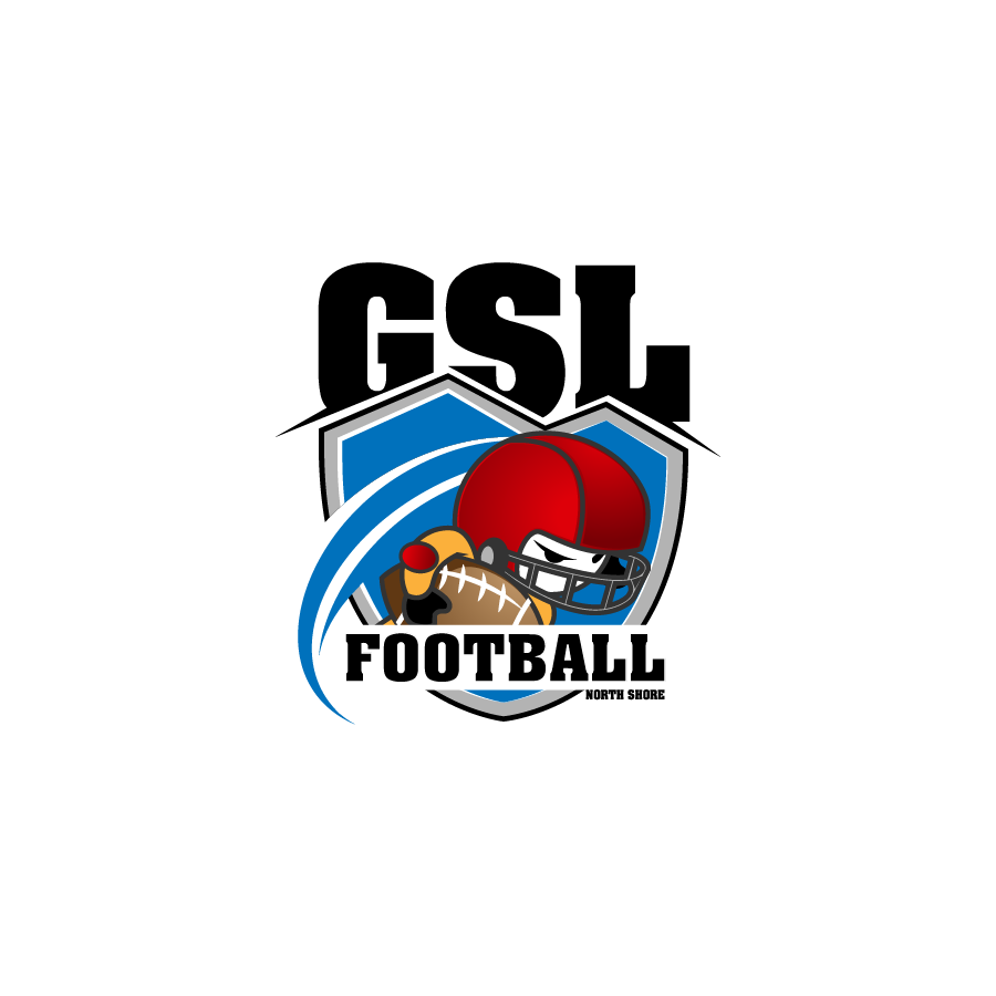Logo Design by zesthar - Entry No. 47 in the Logo Design Contest Unique Logo Design Wanted for GSL Football, also known as North Shore Football.