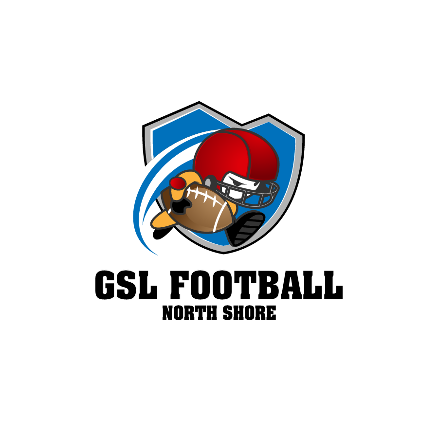 Logo Design by zesthar - Entry No. 48 in the Logo Design Contest Unique Logo Design Wanted for GSL Football, also known as North Shore Football.