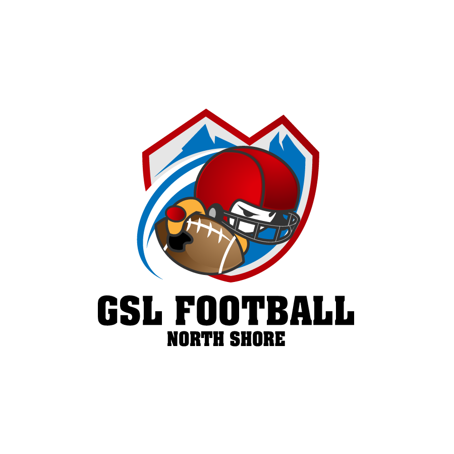 Logo Design by zesthar - Entry No. 51 in the Logo Design Contest Unique Logo Design Wanted for GSL Football, also known as North Shore Football.