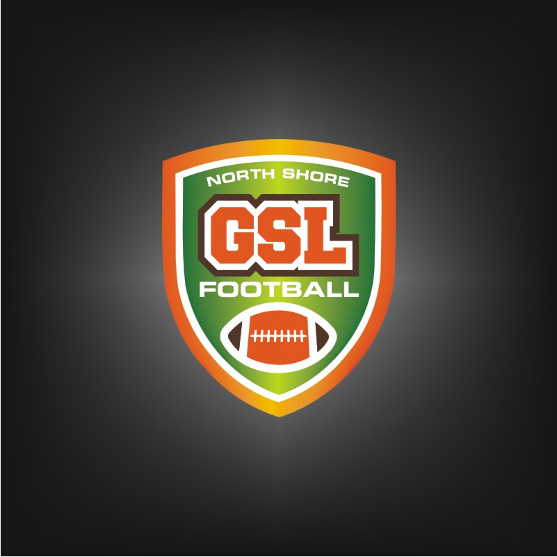 Logo Design by Private User - Entry No. 54 in the Logo Design Contest Unique Logo Design Wanted for GSL Football, also known as North Shore Football.
