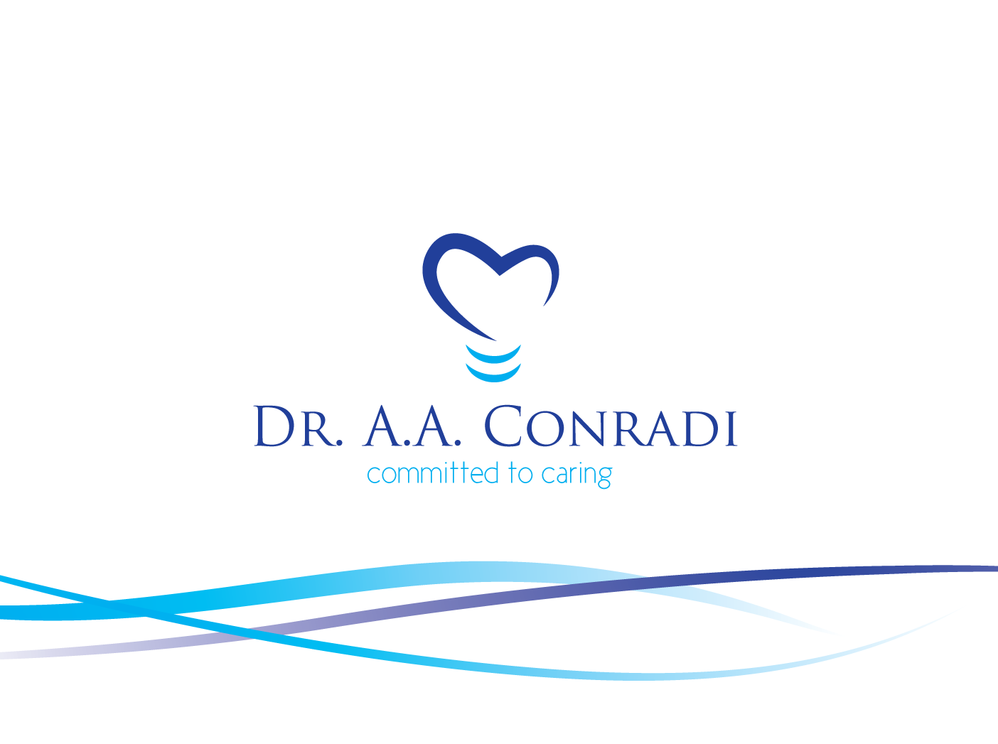 Logo Design by Severiano Fernandes - Entry No. 37 in the Logo Design Contest Unique Logo Design Wanted for Dr. A.A. Conradi.