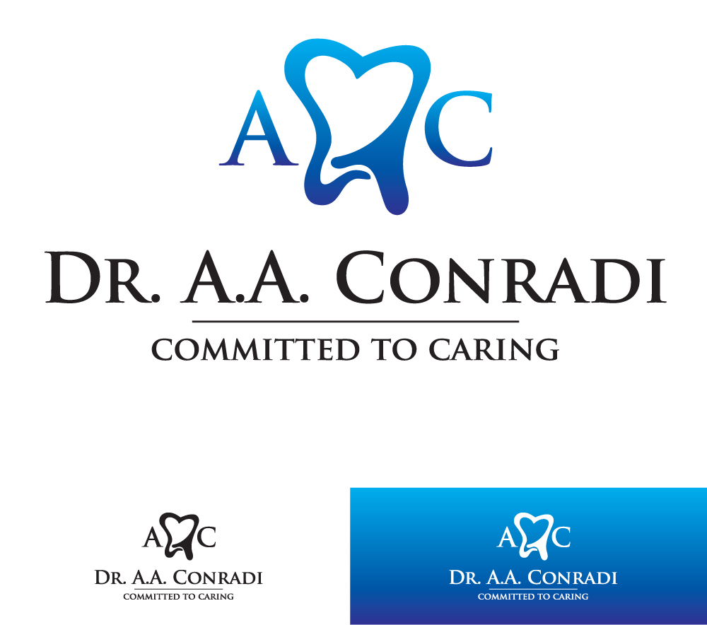 Logo Design by Dan Schaub - Entry No. 37 in the Logo Design Contest Unique Logo Design Wanted for Dr. A.A. Conradi.