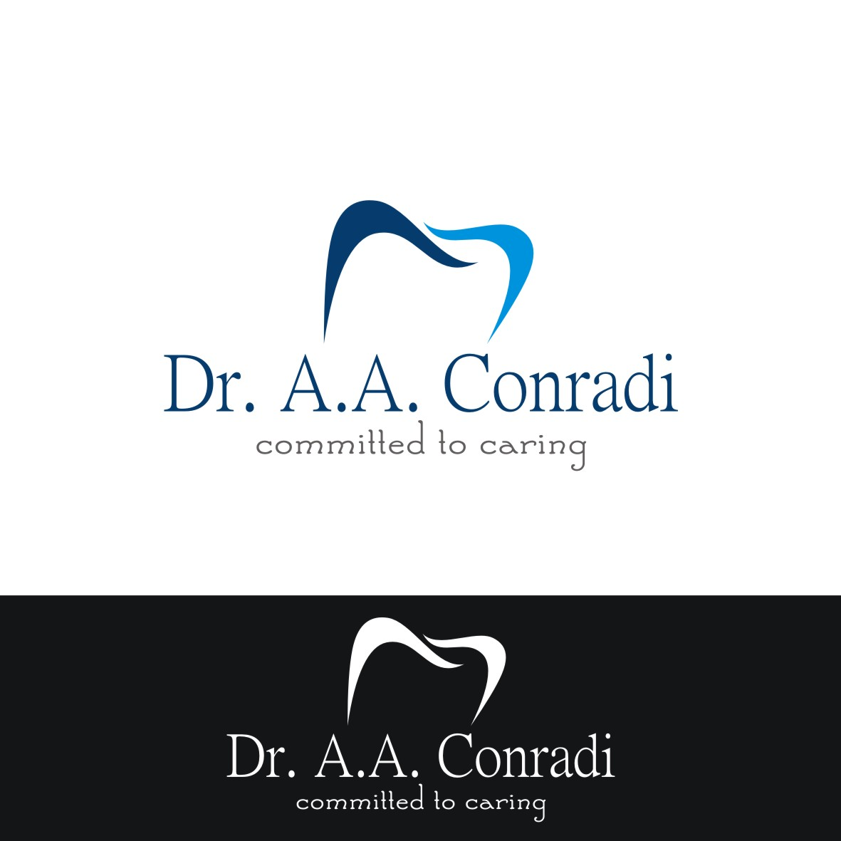 Logo Design by arteo_design - Entry No. 40 in the Logo Design Contest Unique Logo Design Wanted for Dr. A.A. Conradi.