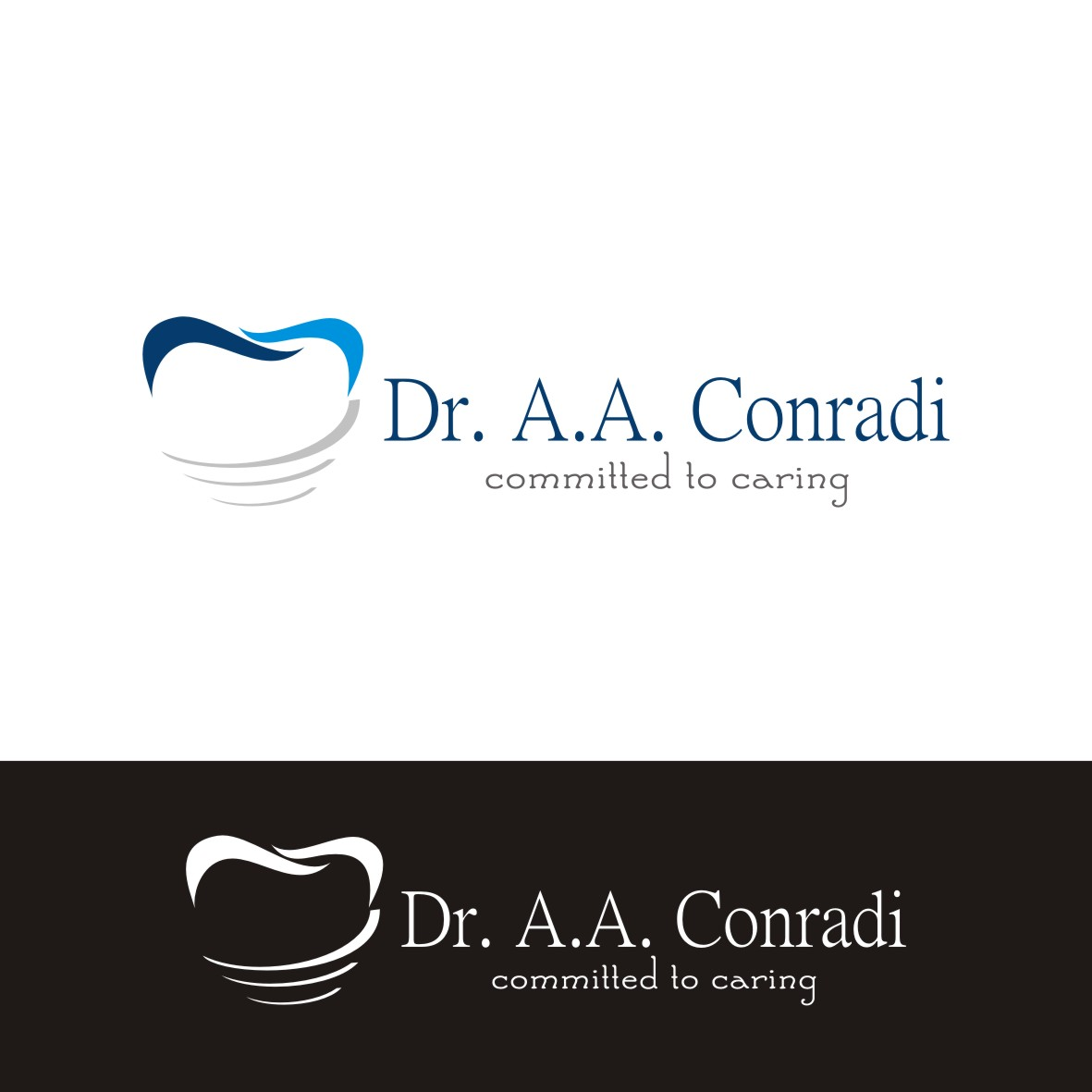 Logo Design by arteo_design - Entry No. 43 in the Logo Design Contest Unique Logo Design Wanted for Dr. A.A. Conradi.