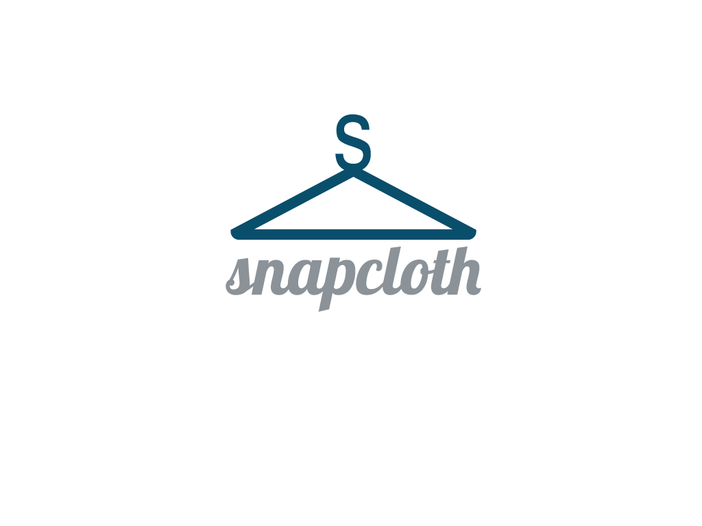 Logo Design by Omar Martinez - Entry No. 8 in the Logo Design Contest Snapcloth Logo Design.