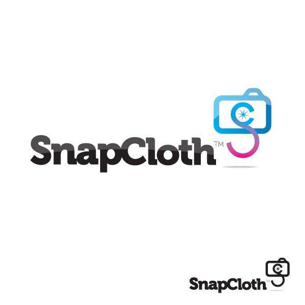 Logo Design by storm - Entry No. 11 in the Logo Design Contest Snapcloth Logo Design.