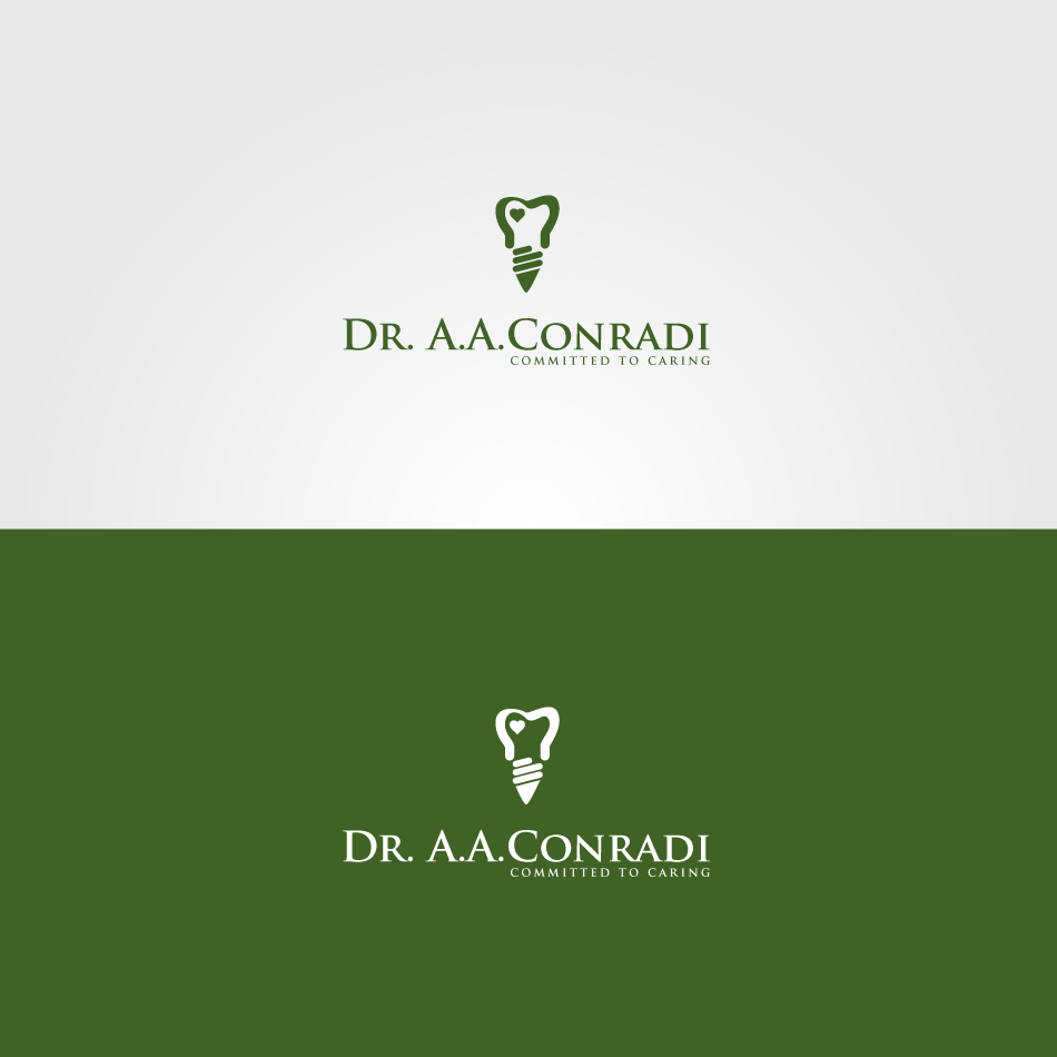 Logo Design by GraySource - Entry No. 49 in the Logo Design Contest Unique Logo Design Wanted for Dr. A.A. Conradi.