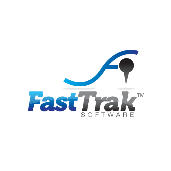 Logo Design by storm - Entry No. 19 in the Logo Design Contest Fast Trak Software Logo Design.