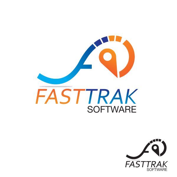 Logo Design by storm - Entry No. 21 in the Logo Design Contest Fast Trak Software Logo Design.