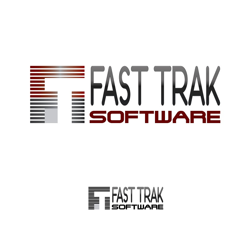 Logo Design by kowreck - Entry No. 22 in the Logo Design Contest Fast Trak Software Logo Design.