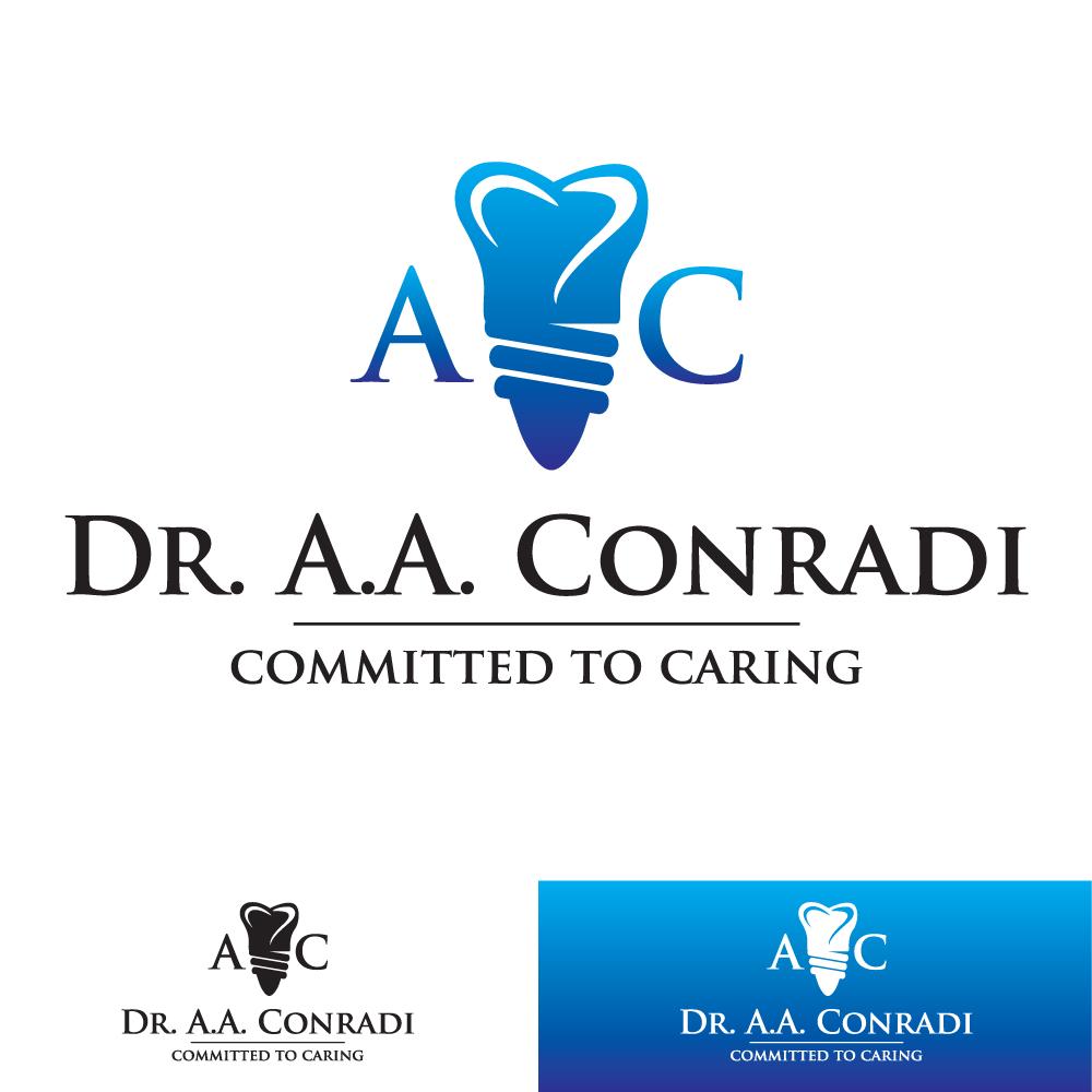 Logo Design by Dan Schaub - Entry No. 50 in the Logo Design Contest Unique Logo Design Wanted for Dr. A.A. Conradi.