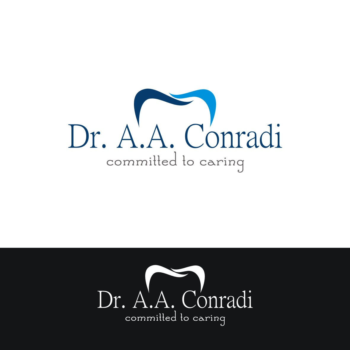 Logo Design by arteo_design - Entry No. 51 in the Logo Design Contest Unique Logo Design Wanted for Dr. A.A. Conradi.
