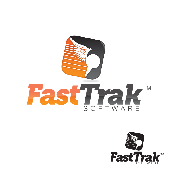 Logo Design by storm - Entry No. 23 in the Logo Design Contest Fast Trak Software Logo Design.