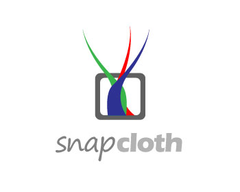 Logo Design by fabricapixel - Entry No. 18 in the Logo Design Contest Snapcloth Logo Design.