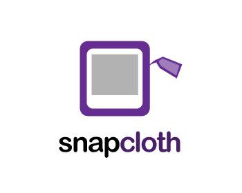 Logo Design by fabricapixel - Entry No. 20 in the Logo Design Contest Snapcloth Logo Design.