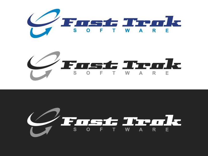 Logo Design by caturro - Entry No. 24 in the Logo Design Contest Fast Trak Software Logo Design.