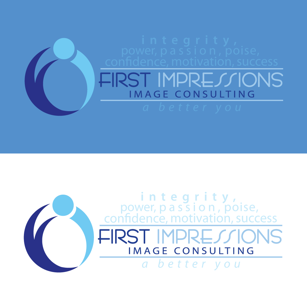 Logo Design by rockin - Entry No. 190 in the Logo Design Contest First Impressions Image Consulting Logo Design.