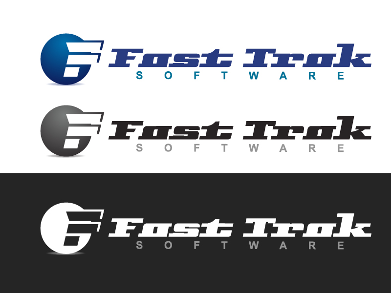 Logo Design by caturro - Entry No. 26 in the Logo Design Contest Fast Trak Software Logo Design.