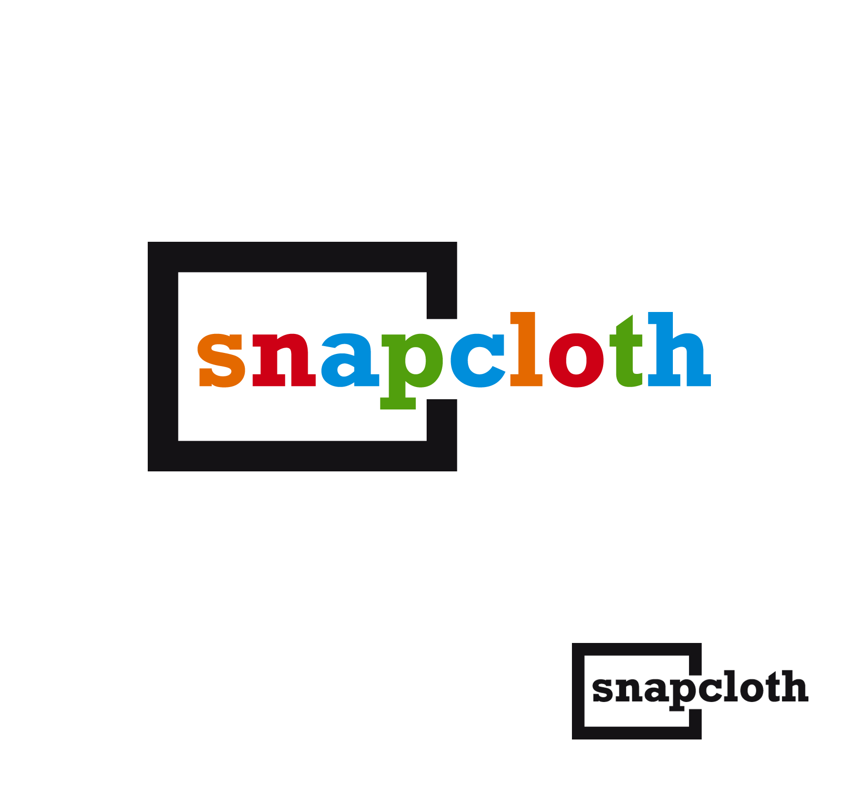 Logo Design by luna - Entry No. 23 in the Logo Design Contest Snapcloth Logo Design.