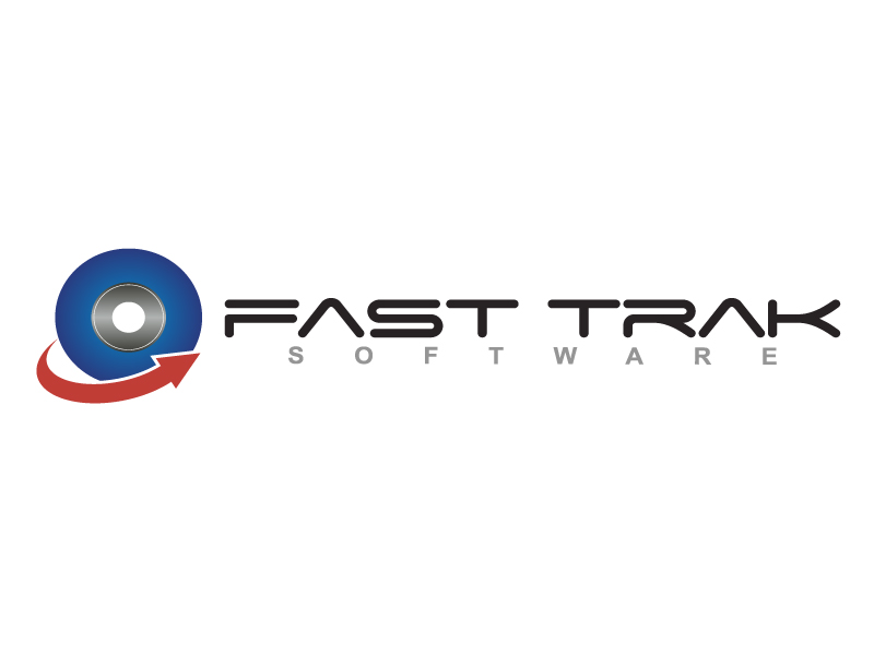 Logo Design by caturro - Entry No. 27 in the Logo Design Contest Fast Trak Software Logo Design.