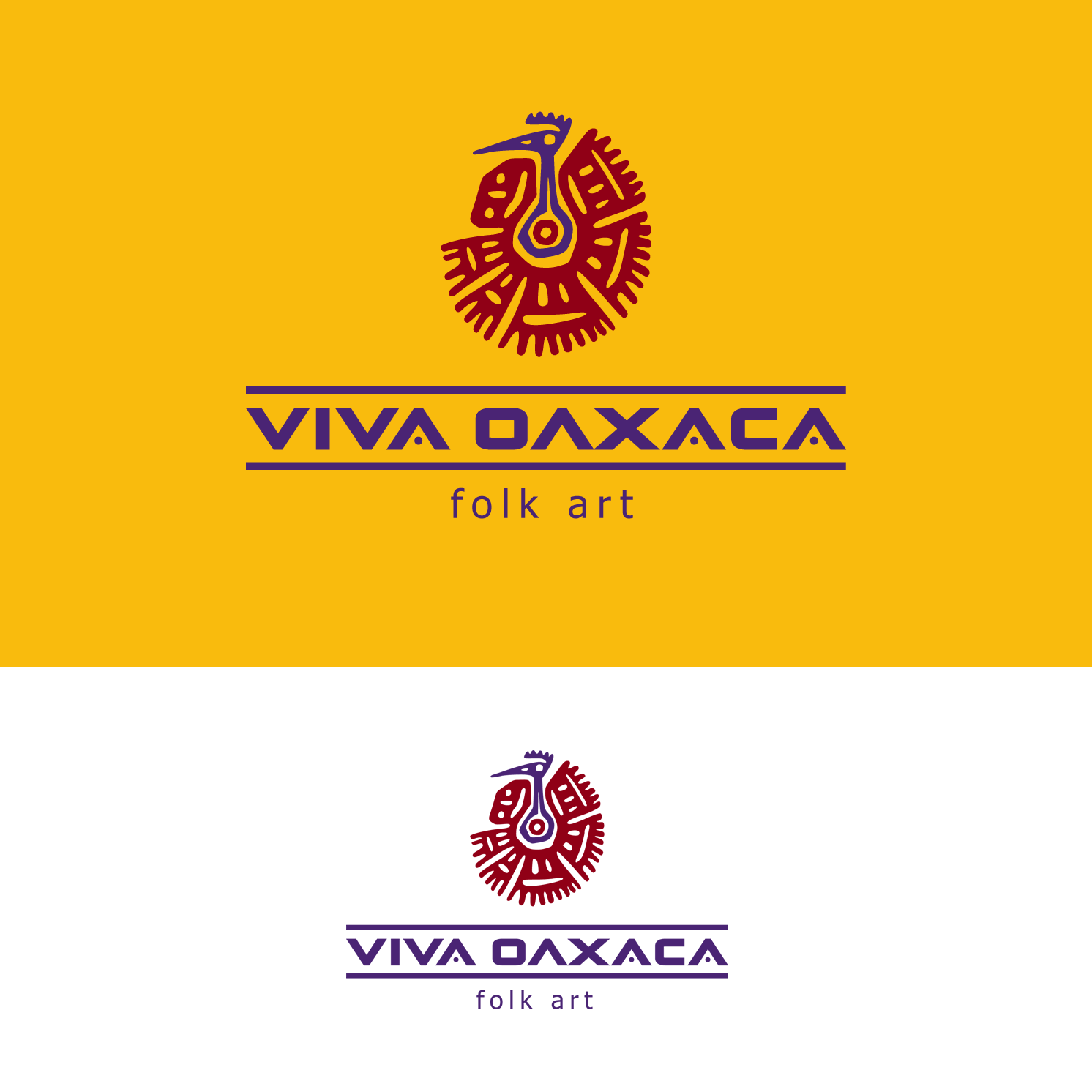 Logo Design by luna - Entry No. 35 in the Logo Design Contest Logo Design Needed for Mexican Handcrafts Website - Viva Oaxaca Folk Art.