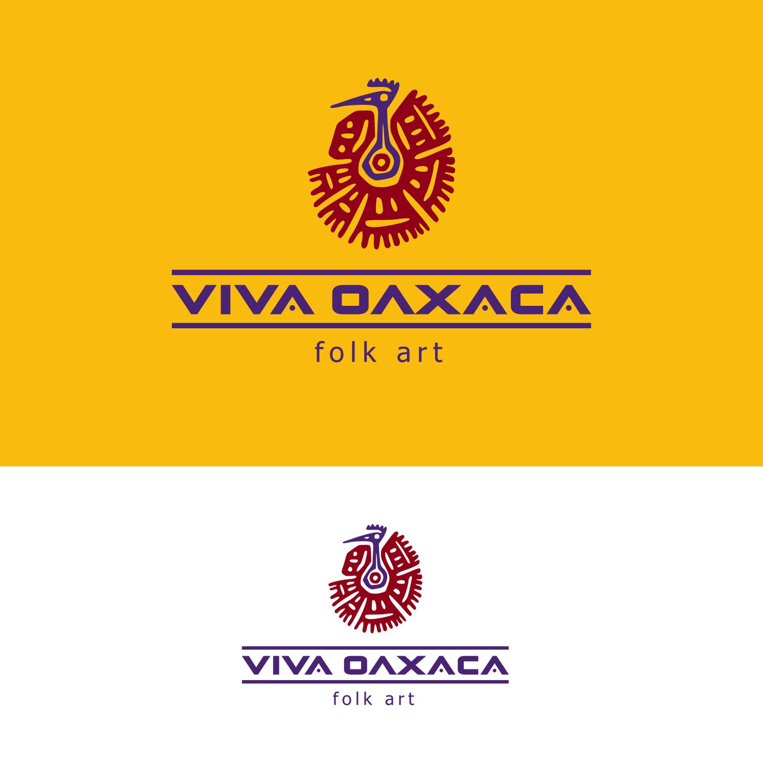 Logo Design by luna - Entry No. 35 in the Logo Design Contest Logo Design Needed for Mexican Handcrafts Website - Viva Oaxaca Folk Art.