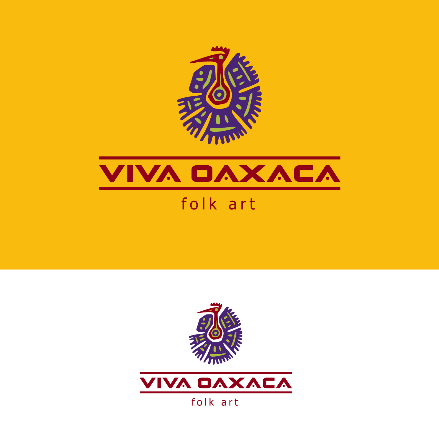 Logo Design by luna - Entry No. 36 in the Logo Design Contest Logo Design Needed for Mexican Handcrafts Website - Viva Oaxaca Folk Art.