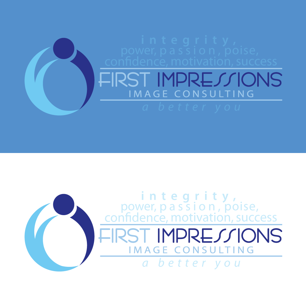 Logo Design by rockin - Entry No. 191 in the Logo Design Contest First Impressions Image Consulting Logo Design.