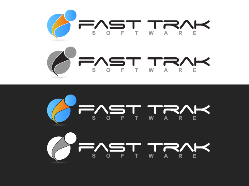 Logo Design by caturro - Entry No. 28 in the Logo Design Contest Fast Trak Software Logo Design.