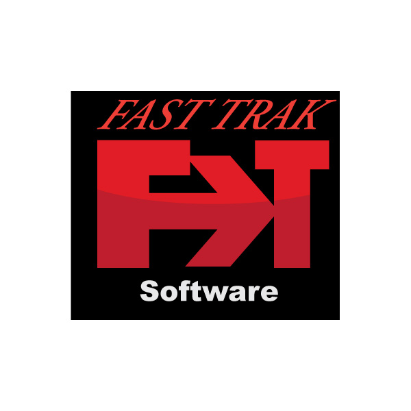 Logo Design by Diana Roder - Entry No. 36 in the Logo Design Contest Fast Trak Software Logo Design.