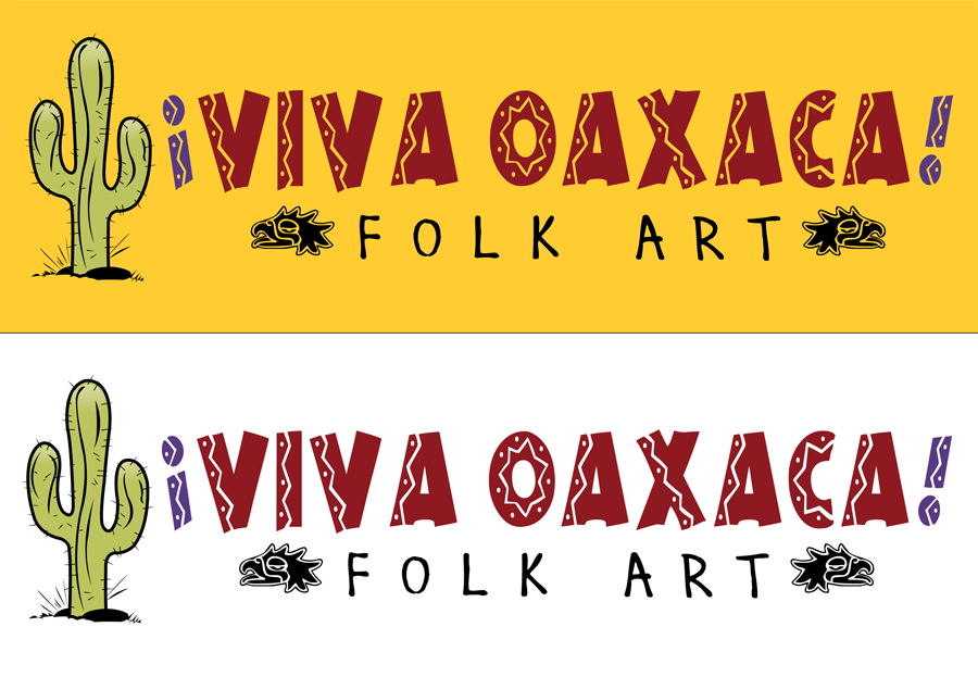 Logo Design by Lefky - Entry No. 44 in the Logo Design Contest Logo Design Needed for Mexican Handcrafts Website - Viva Oaxaca Folk Art.