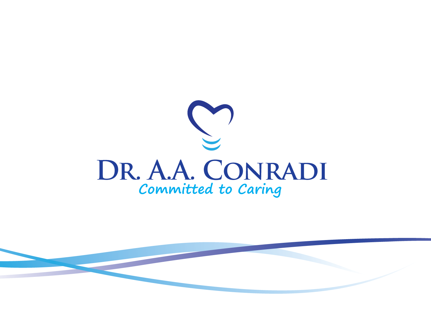 Logo Design by Severiano Fernandes - Entry No. 63 in the Logo Design Contest Unique Logo Design Wanted for Dr. A.A. Conradi.