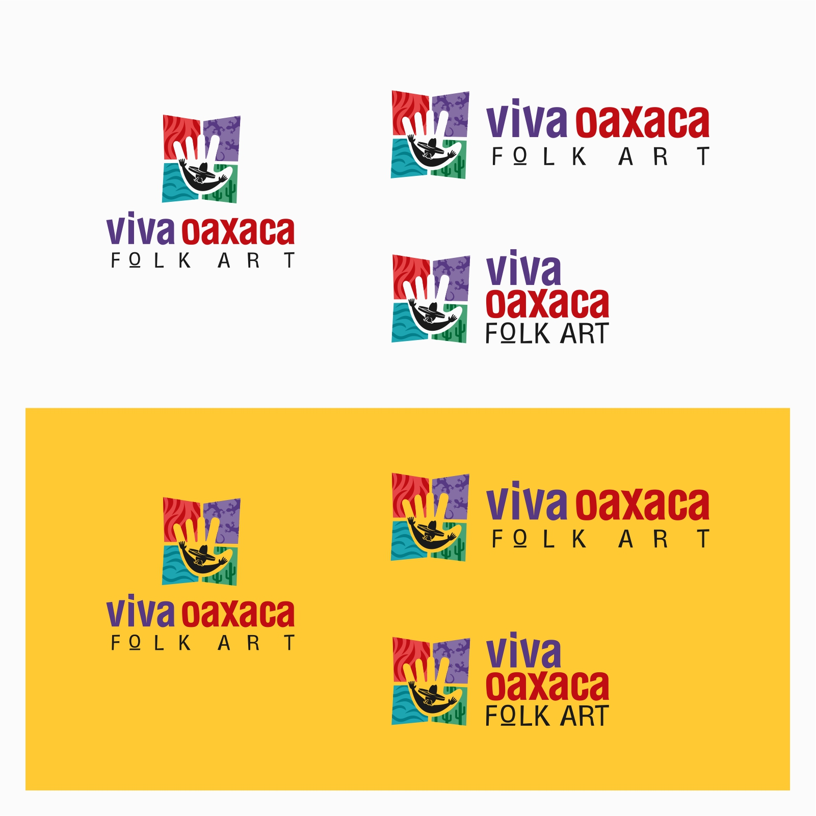 Logo Design by Private User - Entry No. 52 in the Logo Design Contest Logo Design Needed for Mexican Handcrafts Website - Viva Oaxaca Folk Art.