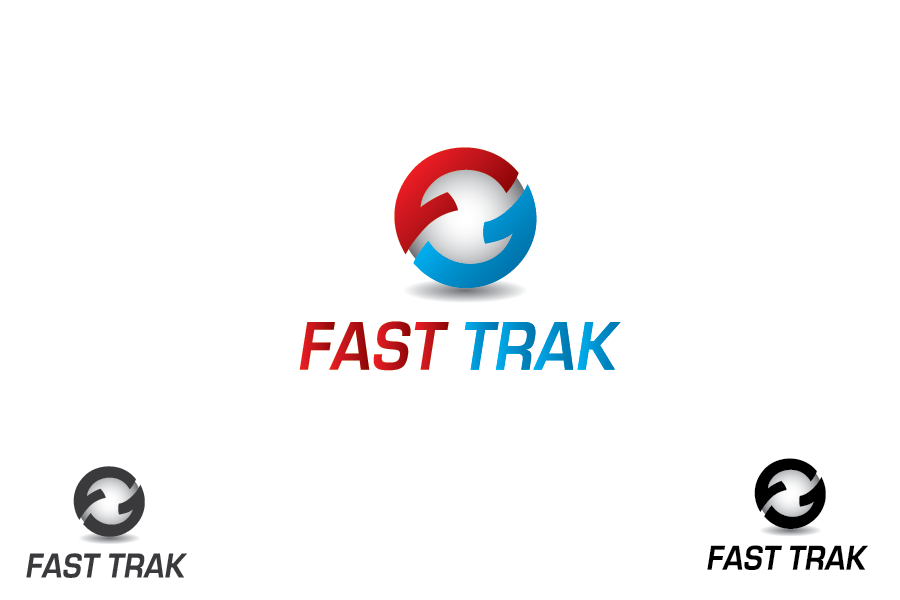Logo Design by Moin Javed - Entry No. 39 in the Logo Design Contest Fast Trak Software Logo Design.