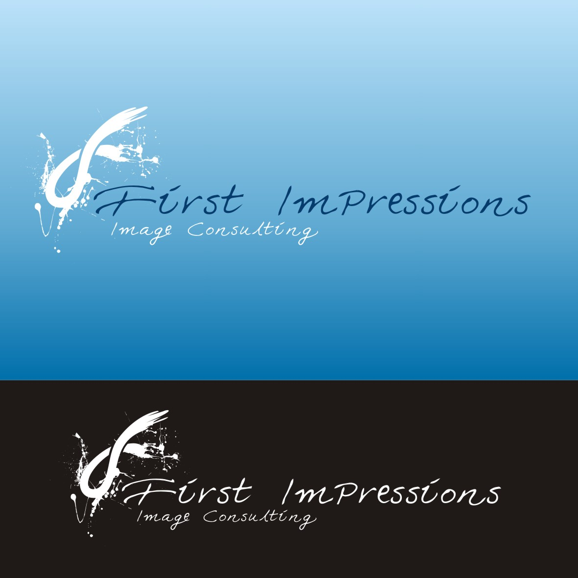 Logo Design by arteo_design - Entry No. 220 in the Logo Design Contest First Impressions Image Consulting Logo Design.