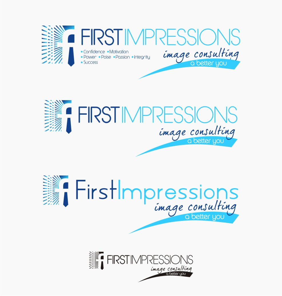 Logo Design by Muhammad Nasrul chasib - Entry No. 227 in the Logo Design Contest First Impressions Image Consulting Logo Design.