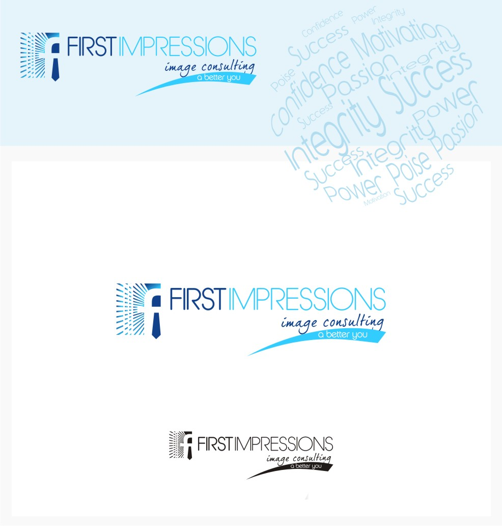Logo Design by graphicleaf - Entry No. 235 in the Logo Design Contest First Impressions Image Consulting Logo Design.