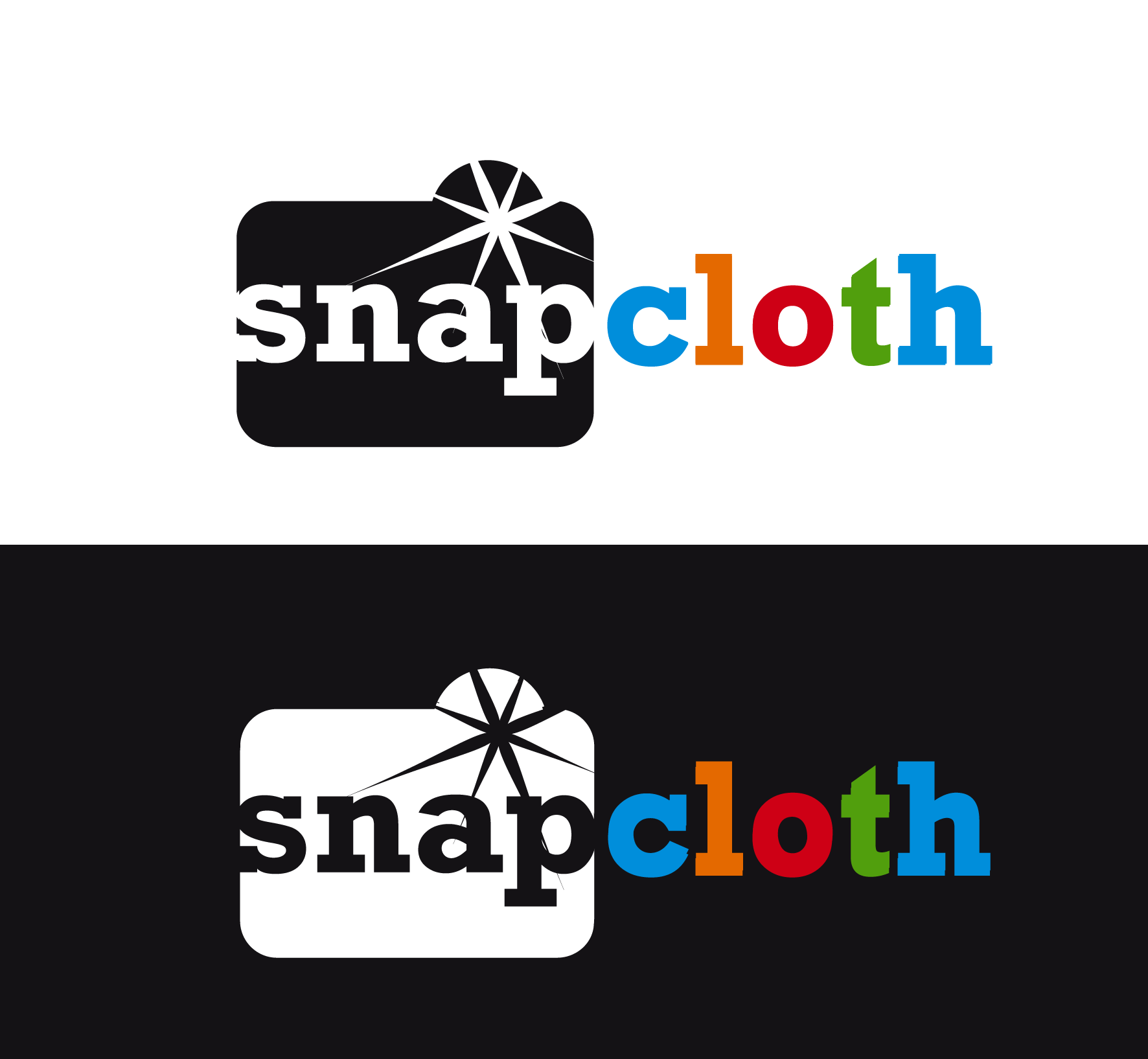 Logo Design by luna - Entry No. 54 in the Logo Design Contest Snapcloth Logo Design.