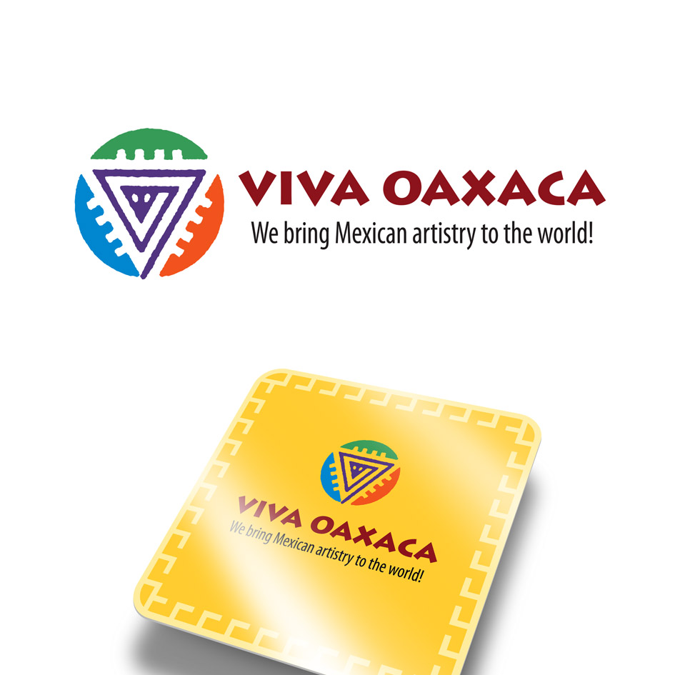 Logo Design by ARTUR PALKA - Entry No. 55 in the Logo Design Contest Logo Design Needed for Mexican Handcrafts Website - Viva Oaxaca Folk Art.