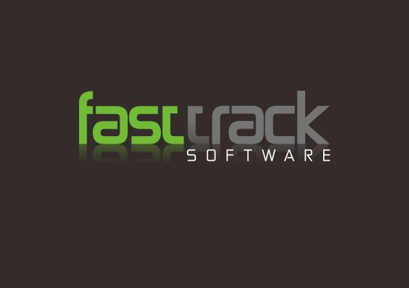 Logo Design by Teguh Mudjianto - Entry No. 43 in the Logo Design Contest Fast Trak Software Logo Design.