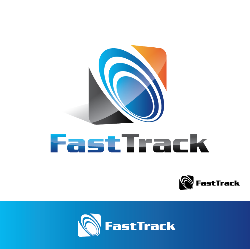 Logo Design by limix - Entry No. 46 in the Logo Design Contest Fast Trak Software Logo Design.