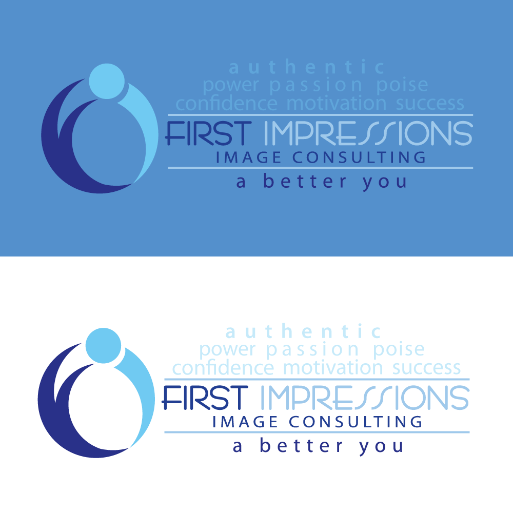 Logo Design by rockin - Entry No. 242 in the Logo Design Contest First Impressions Image Consulting Logo Design.